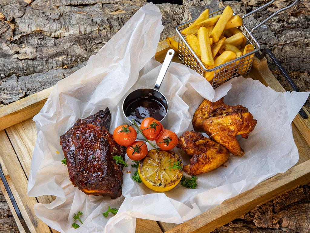 Impressiefoto culinaire maaltijd bij Bar Bistro DuCo