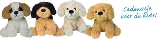 knuffel hondjes
