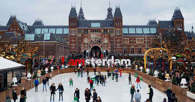 December is feestmaand in Amsterdam