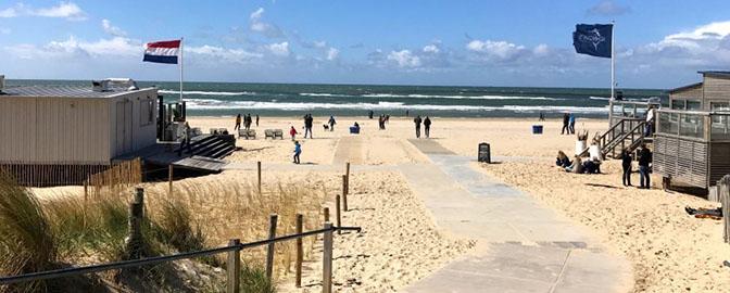 Strand holland zeeland fkk Rollstuhl Strand